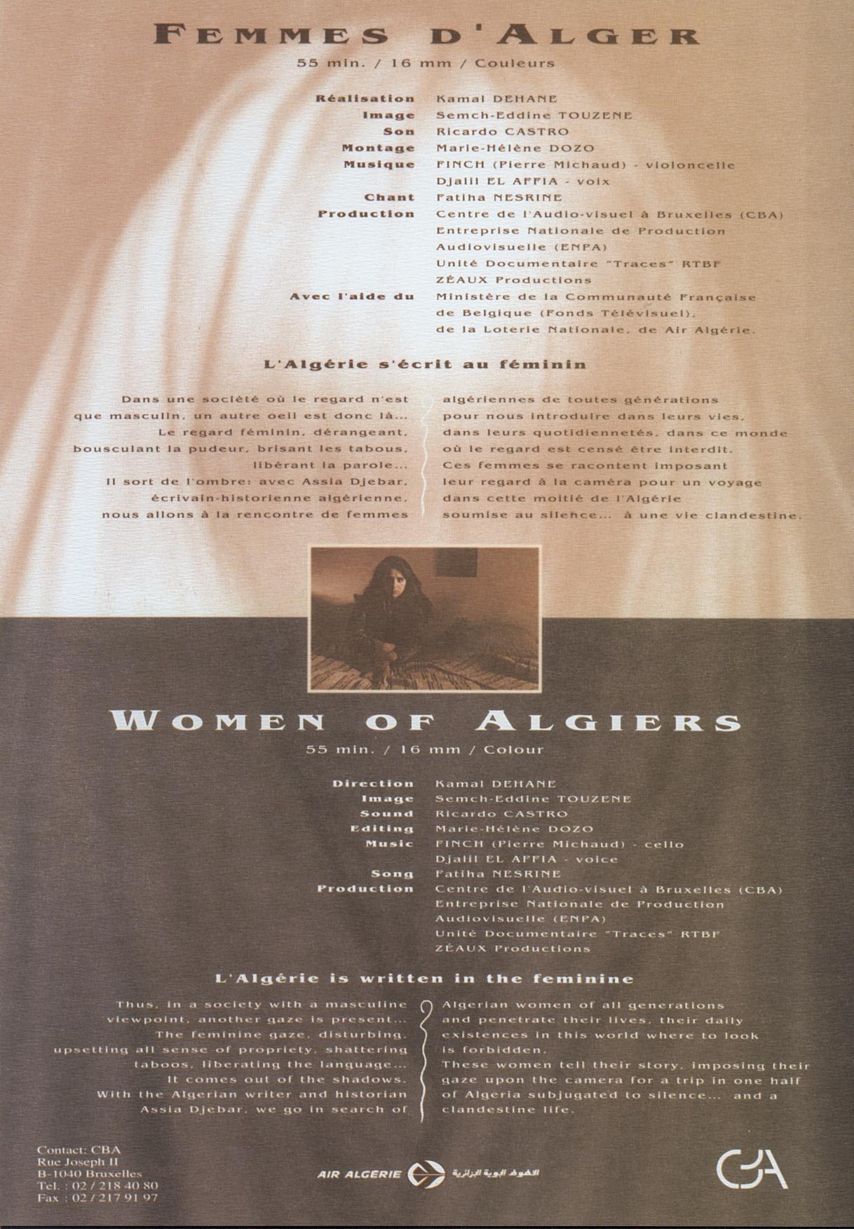 rencontres femmes en algerie